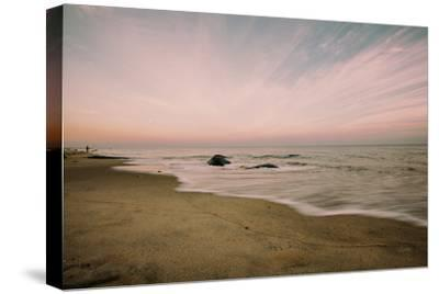 Beach Rays--Stretched Canvas Print