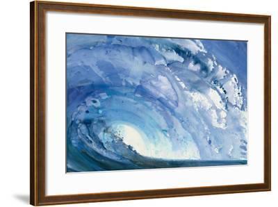 Barrel Wave--Framed Art Print