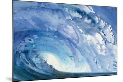 Barrel Wave--Mounted Art Print