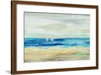 Sand and Sea--Framed Art Print