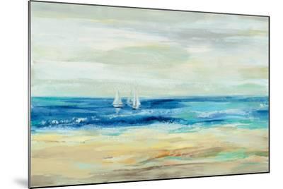 Sand and Sea--Mounted Art Print