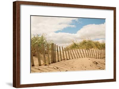 Beach Dunes I--Framed Art Print