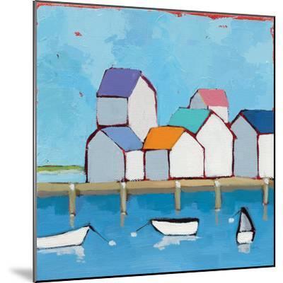 The Wharf--Mounted Premium Giclee Print