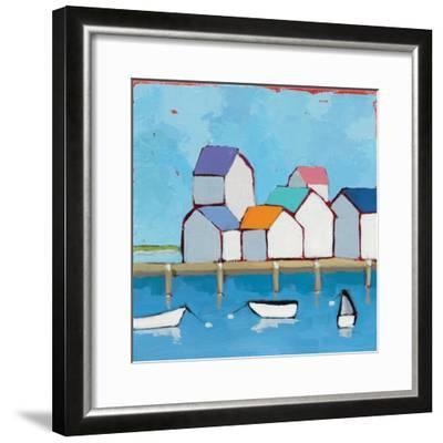 The Wharf--Framed Premium Giclee Print