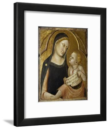 The Virgin and Child, ca. 1345-Francesco Traini-Framed Giclee Print