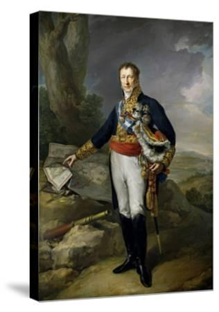 Pedro Alcantara Álvarez de Toledo y Salm Salm, 13th Duke of the Infantado , 1827.-Vicente L?pez Porta?a-Stretched Canvas Print