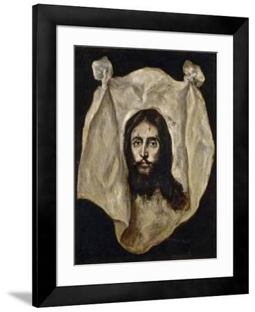 El Greco / The Holy Visage, 1586-1595--Framed Giclee Print