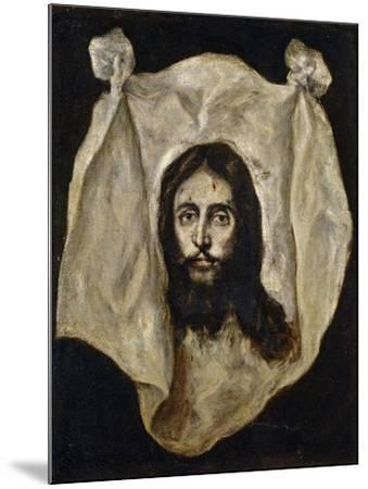El Greco / The Holy Visage, 1586-1595--Mounted Giclee Print
