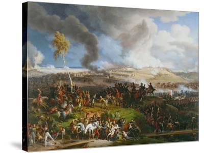 The Battle of the Moskova (Borodino), September 7,1812.-Louis Fran?ois Lejeune-Stretched Canvas Print