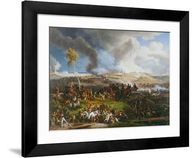 The Battle of the Moskova (Borodino), September 7,1812.-Louis Fran?ois Lejeune-Framed Giclee Print