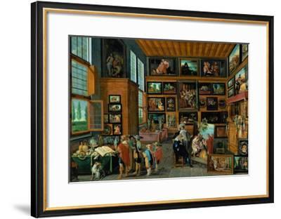 """Resurrection of Lazarus"", formerly Staatliche Museen, Berlin, now lost-Hans III Jordaens-Framed Giclee Print"
