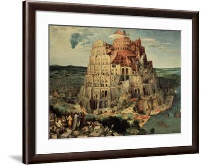 The Tower of Babel, 1563-Pieter Bruegel the Elder-Framed Giclee Print