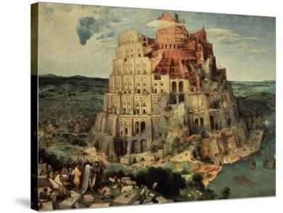 The Tower of Babel, 1563-Pieter Bruegel the Elder-Stretched Canvas Print