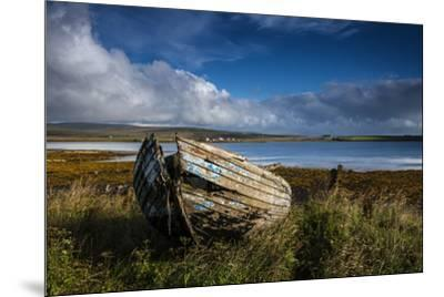 An abandoned boat on the island of Hoy.-Jim Richardson-Mounted Photographic Print
