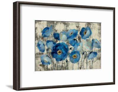 Aquamarine Floral-Silvia Vassileva-Framed Premium Giclee Print