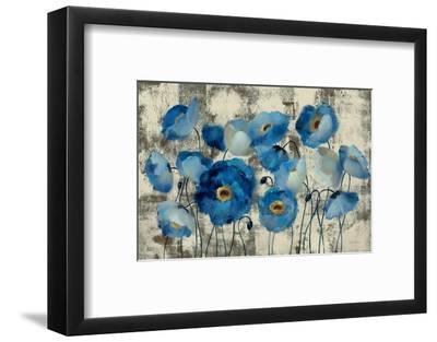 Aquamarine Floral-Silvia Vassileva-Framed Art Print