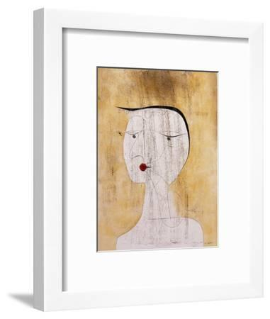 Sealed Woman-Paul Klee-Framed Giclee Print