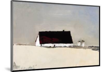 Big Barn and Silos-Sandra Pratt-Mounted Giclee Print