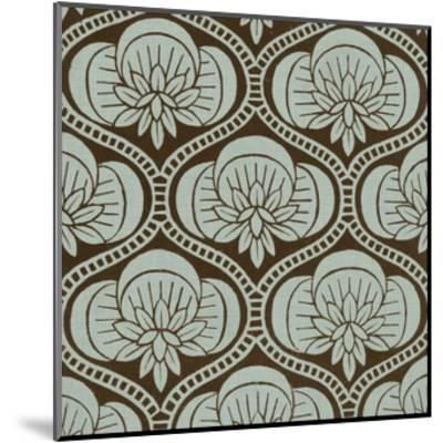 Spa and Sepia Tile I-Vision Studio-Mounted Giclee Print