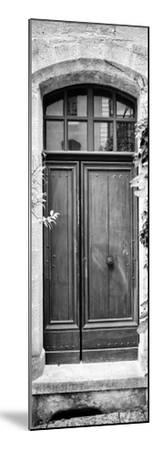 France Provence Panoramic Collection - Black Door B&W-Philippe Hugonnard-Mounted Photographic Print