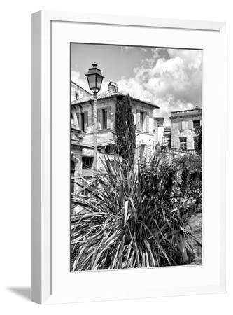 France Provence B&W Collection - Uz�Architecture-Philippe Hugonnard-Framed Photographic Print