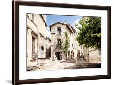 France Provence Collection - Provencal Street - Uzès-Philippe Hugonnard-Framed Photographic Print