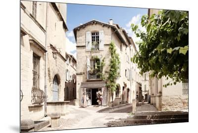 France Provence Collection - Provencal Street - Uzès-Philippe Hugonnard-Mounted Photographic Print