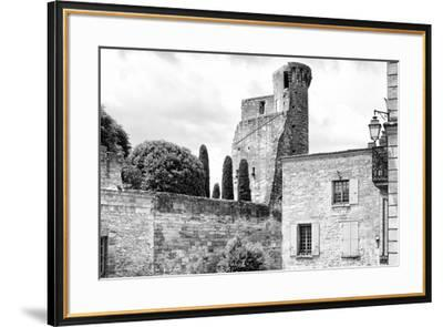 France Provence B&W Collection - Duché d'Uzès-Philippe Hugonnard-Framed Photographic Print
