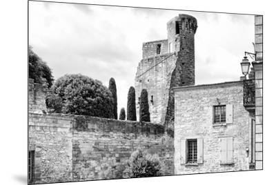 France Provence B&W Collection - Duché d'Uzès-Philippe Hugonnard-Mounted Photographic Print