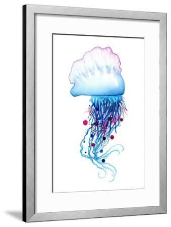 Man o'War Jellyfish-Sam Nagel-Framed Art Print