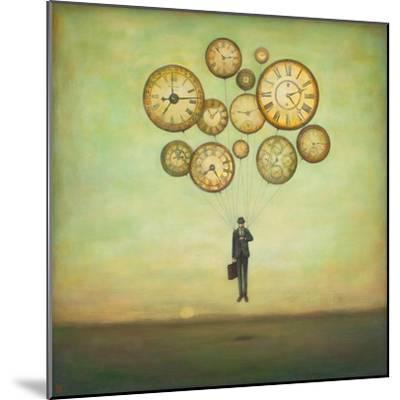 Waiting for Time to Fly-Duy Huynh-Mounted Premium Giclee Print