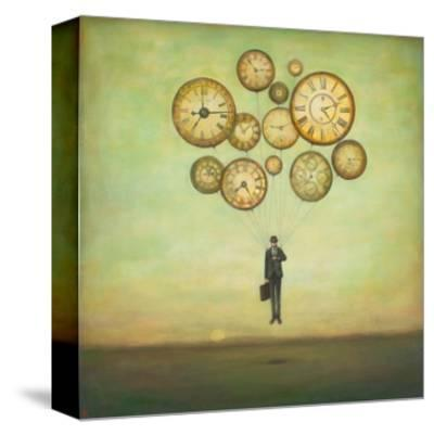 Waiting for Time to Fly-Duy Huynh-Stretched Canvas Print