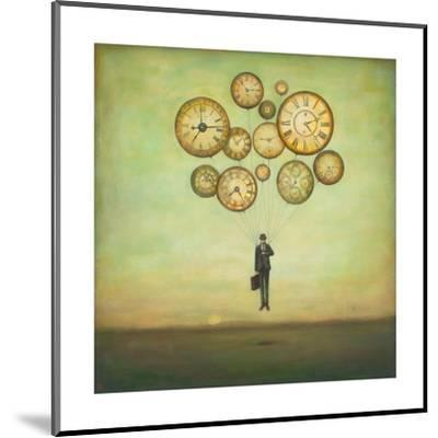 Waiting for Time to Fly-Duy Huynh-Mounted Art Print