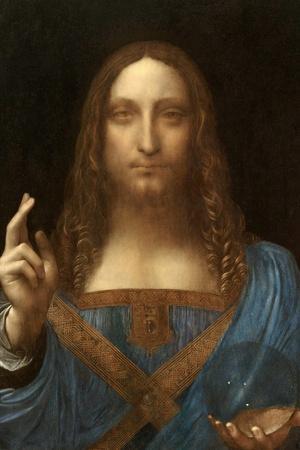 Salvator Mundi-Leonardo Da Vinci-Stretched Canvas Print