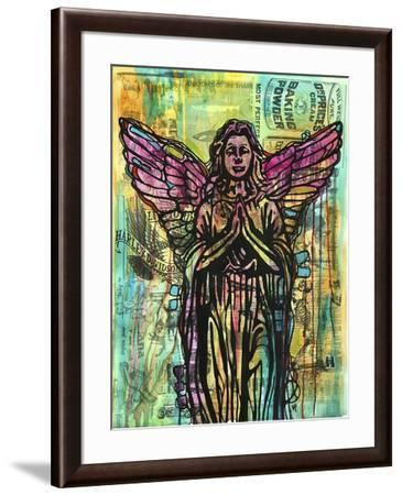 Most Perfect Angel, Angels, Statues, Dripping, Pop Art, Watercolor, Religious, Spirituality-Russo Dean-Framed Giclee Print