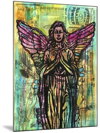 Most Perfect Angel, Angels, Statues, Dripping, Pop Art, Watercolor, Religious, Spirituality-Russo Dean-Mounted Giclee Print