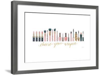 Wake Up and Make Up IX-Marco Fabiano-Framed Art Print