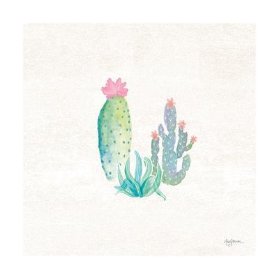 Bohemian Cactus V-Mary Urban-Framed Art Print