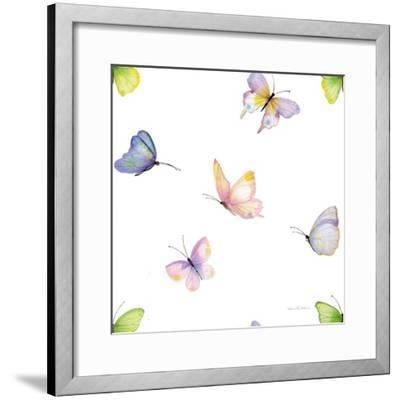 Floral Delight Pattern II-Kathleen Parr McKenna-Framed Art Print