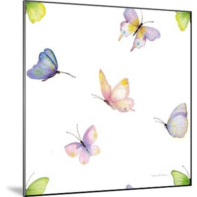 Floral Delight Pattern II-Kathleen Parr McKenna-Mounted Art Print