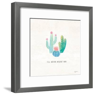 Bohemian Cactus VII-Mary Urban-Framed Art Print