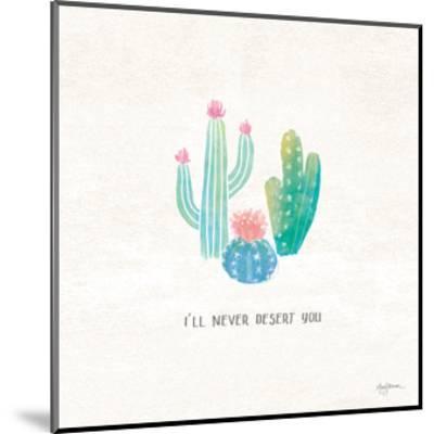 Bohemian Cactus VII-Mary Urban-Mounted Art Print