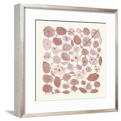 Mid Century IV Blush-Cheryl Warrick-Framed Art Print