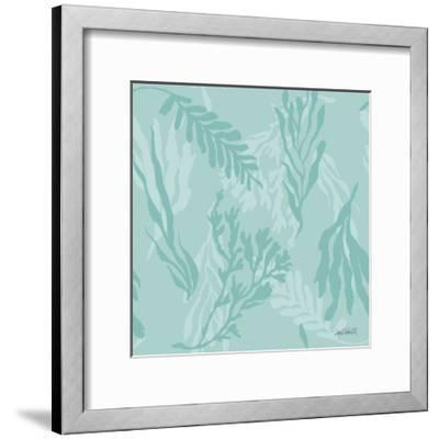 Deep Sea Step 03C-Anne Tavoletti-Framed Art Print