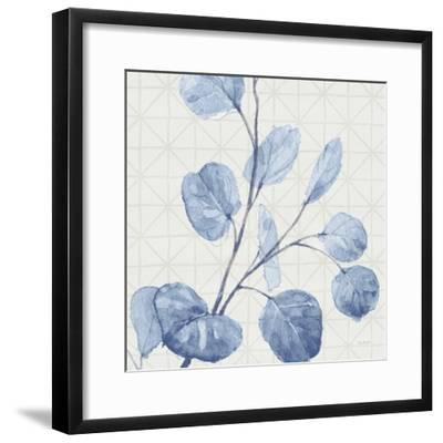Mixed Greens LI Blue-Lisa Audit-Framed Art Print
