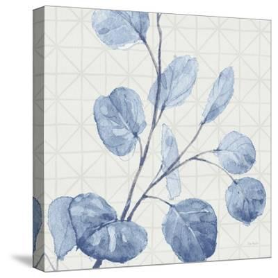 Mixed Greens LI Blue-Lisa Audit-Stretched Canvas Print