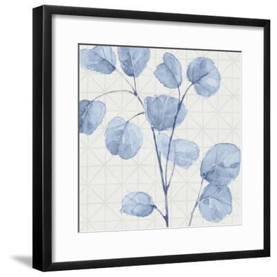 Mixed Greens LII Blue-Lisa Audit-Framed Art Print