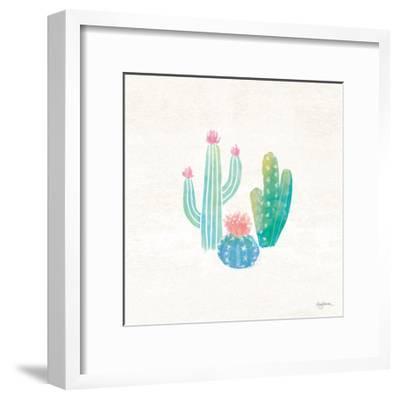 Bohemian Cactus III-Mary Urban-Framed Art Print