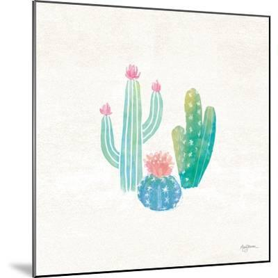 Bohemian Cactus III-Mary Urban-Mounted Art Print