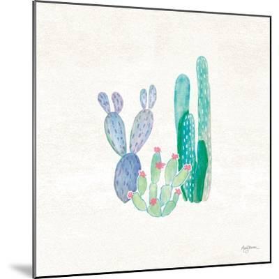 Bohemian Cactus II-Mary Urban-Mounted Art Print